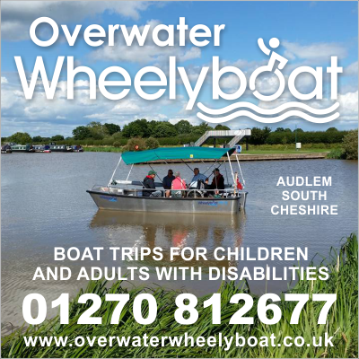 Overwater Wheelyboat - Boat trips for children and adults with disabilities in South Cheshire