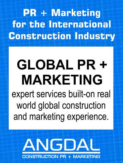 ANGDAL - CONSTRUCTION PR + MARKETING
